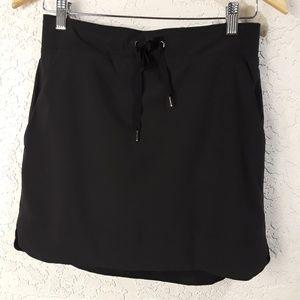 Athleta Size 4 Black Skirt Skort Tennis Hiking